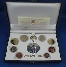 Kms monedas de curso conjunto vaticano 2007 pp pulida placa rar
