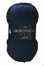 Cygnet Grousemoor DK Knitting Yarn 100g With Wool 1988 Navy