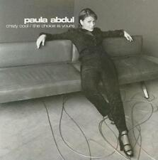 Paula Abdul: Crazy Cool / The Choice Is Yours PROMO Music CD Remixes w/ Artwork!