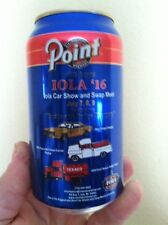 2016 Iola Car Show Point Special Beer Can 12oz