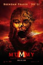 THE MUMMY: TOMB OF THE DRAGON EMPEROR ORIGINAL 27x40 MOVIE POSTER (2008) FRASER