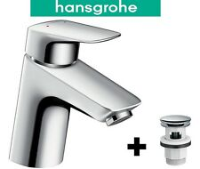 HANSGROHE LOGIS 70 MONO BASIN BATH BATHROOM SINK MIXER TAP & CLICK CLACK WASTE