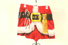 Boxers Simply Stated Naughty Or Nice Holiday  Underwear SZ S NWT New