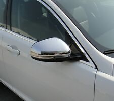 Jaguar XF Chrome Mirror Covers  From 2009 UPDATE ONWARDS