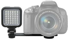 LED Light Kit With 2 Battery & Charger for Canon EOS Rebel 400D 500D 1D 1Ds