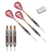 26g Unicorn Mirage Phase 5 Rosso Ring 95% Tungsten Darts Set with Purist Wallet