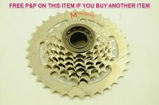 MEGA RANGE 7 SPEED 13/34 FREEWHEEL BLOCK SCREW ON CASSETTE SUIT SHIMANO DISCOUNT