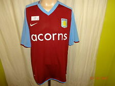"Aston Villa FC Original Nike Heim Trikot 2008/09 ""acorns"" Gr.XL TOP"