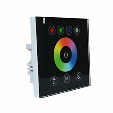 Glass Wall Touch Panel RGBW 5pin rgbw Dimmer Dimming Led controller DC 12/24V