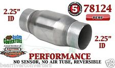 "Eastern Universal Catalytic Converter Performance 2.25"" Pipe 4.75"" Body 78124"