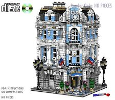 CD Custom Lego International Hotel, city town 10185 10224  cafe corner hall 13
