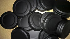 Mason Jar Lids Wide Mouth Black Lids 100 pieces