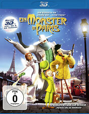 3D Blu-ray *  EIN MONSTER IN PARIS - 3 D # NEU OVP §