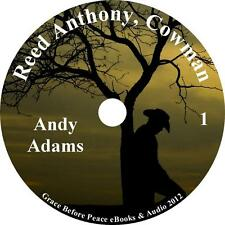 Reed Anthony, Cowman a Cowboy Autobiography Audiobook by Andy Adams on 1 MP3 CD