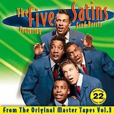 THE FIVE SATINS - Original Master Tapes Collection, Volume 1 (CD, 2006)