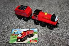 Thomas the Train & Friends Wooden Railway Mike Tender Card Set 2003 Wood Red Toy
