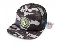 NEW Volcom Camo Print Coast Cheese Snapback Trucker Cap Hat