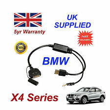 BMW X4 Series (611204407) For Apple 3GS 4 4S iPhone iPod USB & 3.5mm Aux Cable