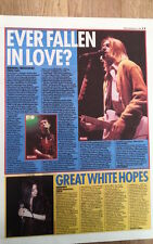 NIRVANA  Zenith Paris 1994 concert review UK ARTICLE / clipping