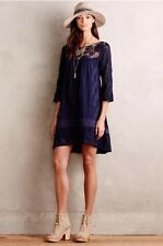 Anthropologie Holding Horses Augusta Swing High Low Lace Crochet Dress Sz Small