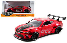 JADA  BIGTIME 2016 CHEVY CAMARO WIDE BODY 1/24 WITH GT WING CANDY RED 98136
