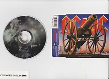 AC/DC AC DC  -   BIG GUN   UK   3 TR     RARE CD SINGLE   2 DIFF LIVE TRACKS