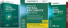 Kaspersky TOTAL SECURITY  3 Device 1 Year Multi-Device Windows Mac Android PC