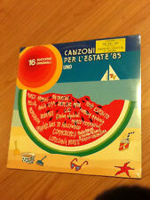 LP CANZONI PER L'ESTATE 85 UNO CAT. TSMRL 6333 ANNA OXA SEPECHE MODE MCZ1