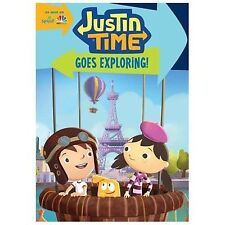Justin Time: Goes Exploring! (DVD, 2014)