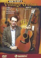 Cómo comprar una Vintage Guitarra Antiguo Coleccionistas inversores entusiastas primer Dvd