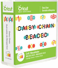 CRICUT *DAISY CHAIN* CRAFT CARTRIDGE *NEW* BEADED FONT ALPHABET LETTERS NUMBERS