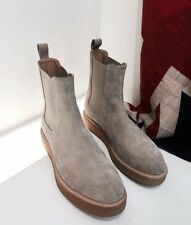 Represent Clothing Wedge Suede Chelsea Boots UK7