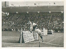 Pierre Jonquères d'Oriola France Equestrian Équitation OLYMPIC GAMES 1952 CARD