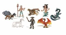 Safari Ltd Juguetes-mítico reinos Set De 8 Figuritas Play / Pastel Decoraciones