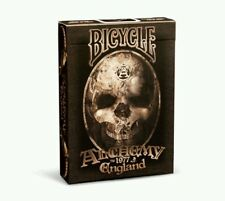1 Deck Bicycle Alchemy ll Gothic England Standard Poker Playing Cards New Box