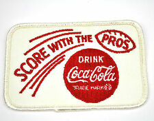 Coca Cola Coke Vintage USA Bügelflicken Aufnäher Patch American Football