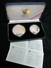 1988 Seoul South Korea Olympic Two Piece Set - Diving and Tug of War