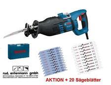 Bosch Säbelsäge GSA 1300 PCE Professional im Koffer + 20 Sägeblätter