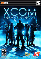 XCOM ENEMY UNKNOWN for PC DVD USA Version Brand New