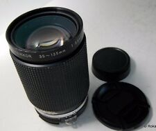nikon 35-135mm f3.5-4.5 lens nikkor Ai-s manual Focus (with one scratch)