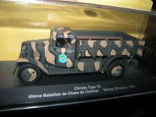 1:43 Citroen type 23 49eme bataillon de chars de combat tannay France 1940 vp
