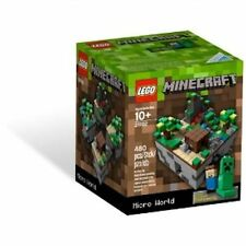 LEGO Cuusoo Minecraft 21102 Der Wald The Forest Micro World