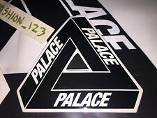 PALACE SKATEBOARDS BLACK TRI FERG VINYL STICKER SS15 TRIFERG TRIANGLE OG
