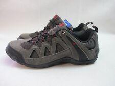 Mens Karrimor Summit Walking Hiking Grey Red Shoes UK 7 EU 41