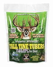 Whitetail Institute Imperial Tall Tine Tubers Food Plot Seed (Fall Planting), 3-
