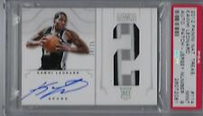 2012 Panini National Treasures #114 KAWHI LEONARD Auto Patch Gold #24/25 PSA 9