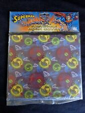 SUPERMAN Stretchable Fabric Book Cover ONE DC Comics WB Shield