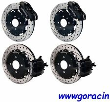 WILWOOD DISC BRAKE KIT,1992-2000 CIVIC,1990-2001 ACURA INTEGRA DRILLED ROTORS