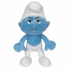 The Smurfs - Grouchy Bean Bag Wave 2, New by Jakks