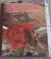 1985 Ohio State Southern Cal USC Rose Bowl college football program